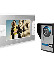 The wireless visible talkback doorbell. 7 inch home the doorbell. Pictures, monitoring, video, open the lock