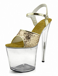 Nightclub Women's Performance props The stage Heels  /  Fashion simple Sandals / Party / Wedding dress and high heels Rose Gold