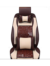Die neue Leder mahjong Matte Bambus-Autokissen Karbid Verkauf Autositz