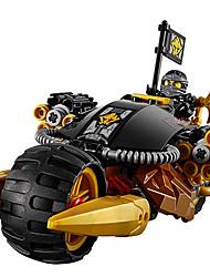 Pour cadeau Blocs de Construction Maquette & Jeu de Construction Moto ABS Jaune Jouets