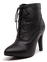 Women's Heels Spring / Fall / WinterHeels / Cowboy / Western Boots / Riding Boots  / Motorcycle Boots / Bootie / Combat