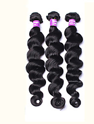 "Brazilian Virgin Hair Loose Wave 3 Bundles Brazilian Loose Wave Brazilian Curly Virgin Hair Large Stocks 8""-28"""