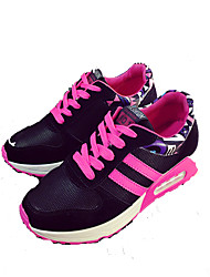 Women's Shoes Fabric Spring / Summer / Fall / Winter Comfort Sneakers Athletic / Casual Flat Heel Lace-up