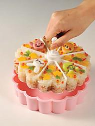 1 Accueil Outil de cuisine Plastique Fabrication de Sushi & Dumpling