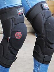 Männer schwarze Nylonlauf Knieorthese