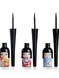 Waterproof Liquid Eye Liner Pen Lovely Toy Bottle Female Beauty Eye Liner Pattern Random Delivery