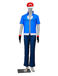Inspired by Pocket Monster Ash Ketchum Anime Cosplay Costumes Cosplay Suits