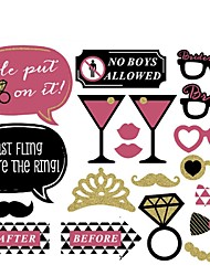 Rubber Wedding Decorations-20Piece/Set Unique Wedding Décor Birthday Fairytale Theme