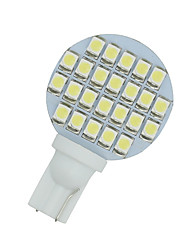 10 x voiture blanche rv aménagement paysager Wedge T10 24 LED SMD lumière W5W 921 194 2 825 168