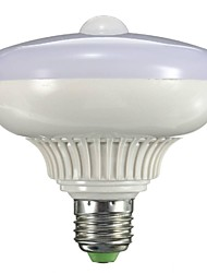 12W B22 E26/E27 Ampoules LED Intelligentes A90 12 LED Haute Puissance 800-1300 lm Blanc Chaud Capteur AC 85-265 V 1 pièce