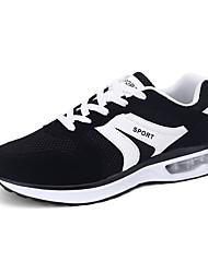 Men's Sneakers Spring / Fall Comfort Tulle Outdoor / Office & Career / Casual Flat Heel  Blue / Yellow