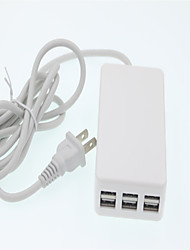 Multi-port Intelligent Fast Filling Head USB Phone Charger for iPad/iPod/iPhone and Other