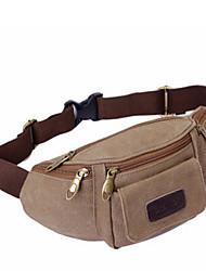 Men Canvas Sports / Casual / Outdoor Waist Bag