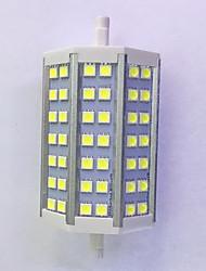 R7S 118mm 42x 5050SMD 10W Warm White / Cool White 1000LM 220°Beam Horizontal Plug Lights  Flood Light AC85-265V