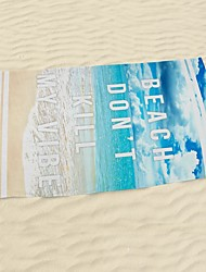 "1 PC Micro Fiber Beach Towel 55"" by 27"" 3D Pattern"