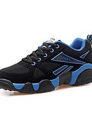 Unisex-Sneaker-Lässig-Wildleder-Flacher Absatz-Komfort-Blau Gelb Rot