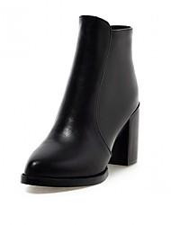 Feminino-Botas-Saltos / Plataforma / Coturno / Inovador / Botas de Cowboy / Botas de Neve / Botas Cano Curto / Gladiador / Bico Fino /