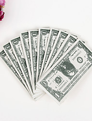 100% virgin pulp 50pcs One Dollar  Wedding Napkins