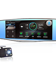 Android Intelligent Voice in The Mirror WiFi Navigation Electronic Dog HD Double Record Driving Recorder