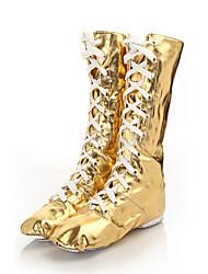 Customizable Women's Dance Shoes Leatherette Leatherette Jazz /Heels / Sneakers Low Heel Beginner