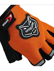 de cas en plein air des gants équitation sport moto de gants demi doigt les hommes et les femmes utilisent antidérapantes