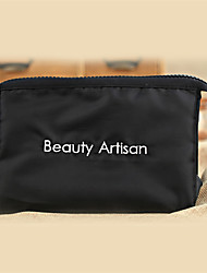 Beauty Artisan Women Polyester Cosmetic Bag Black