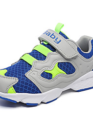 Men's Sneakers Spring Fall Comfort Tulle Fabric Casual Flat Heel Others Black Green Royal Blue