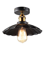 E26/E27 Flush Mount ,  Traditional/Classic / Retro / Country Metal Bedroom / Dining Room / Kitchen / Study