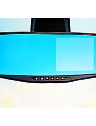 Rétroviseur enregistreur lecteur hd vision nocturne double lentille 1080p inversion vidéo surveillance de stationnement dh200