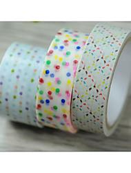 цвет точка / линия Рождественская серия декоративной ленты