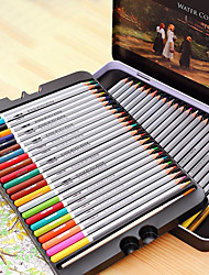 Deli 6524 Water-Soluble Colored Pencils Child Graffiti Pen 72 Color Coloring Garden