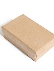embalagem de cor marrom&envio 7 * 9 * 3 kraft caixa de embalagem de um pacote de seis