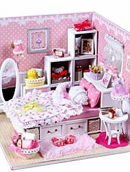 1 juego Suministros Madera,rosa