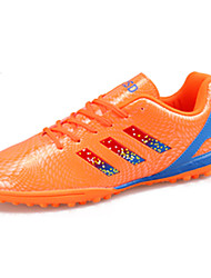 Men's Athletic Shoes Spring / Fall Comfort PU Athletic Flat Heel  Black / Blue / Green / Orange Soccer