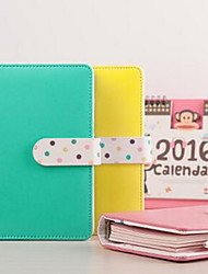 Diary Notebook Colorful Portable Loose-leaf Notebook