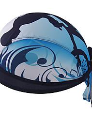 Bandana Bike Breathable Limits Bacteria Sweat-wicking Sunscreen Unisex Dark Blue Terylene