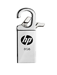 o novo HP usb x252w de metal 8gb disco criativo u
