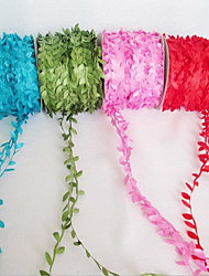 Simulation Rattan Leaf Wreath Accessories 200 Meters Cane Leaves