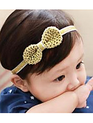 Girls Hair Accessories,Summer Cotton Gold / Gray