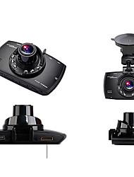 viajar gravador de dados de 2,7 dupla lente grande angular de visão hd 1080p noite
