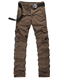 Autumn big yards leisure more than young men bag trousers loose straight outdoor sports pants BDC-1518
