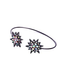 Bohemian Rhinestone Cuff Bracelets Golden Star Bracelet Fashionable Geometric Alloy Jewellery