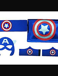 Captain America Cosplay Cape Set .Children cape