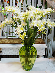 Hi-Q 1Pc Decorative Flower Orchids Flower Wedding Home Table Decoration Artificial Flowers