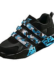 Damen / Herren-Sneaker-Lässig-PU-Flacher Absatz-Komfort-Blau / Fuchsie / Schwarz und Weiss