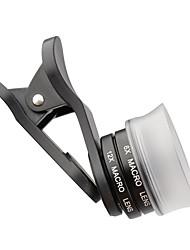 zomei® 17 mm lentille close-up avec blanc transparent clip capuche iphone lense pour iphone / caméra smartphone Android