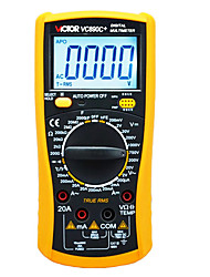 Victor Digital Versatile Digital Multimeter with Backlight Automatic Shutdown Capacitor Temperature Table (2000uF)