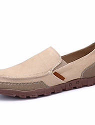 Men's Loafers & Slip-On Canvas Casual Flat Heel Slip-on More  Color Walking EU39-43
