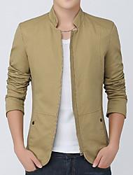 2016 young men's spring and autumn jacket men's business casual cotton Korean tide autumn coat