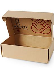 couleur jaune d'autres emballages de matériel&expédition impression dur boîtes d'emballage d'un paquet de huit